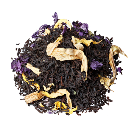 theine: Tea blend of cranberry, rose mallow, sunflower petals, aroma of cherries.