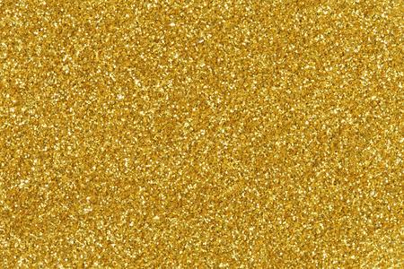 Golden glitter texture christmas background. Stock Photo