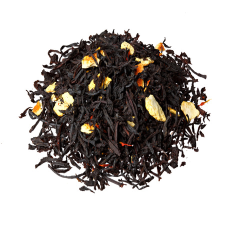 orange peel clove: Black tea with orange peels.