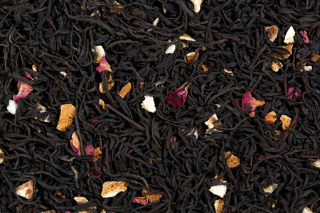 blend: Tea blend of bergamot, rose petals, sage.