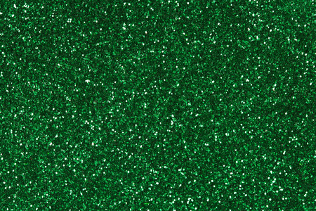 Abstract green glitter background.