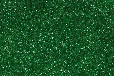 Abstract green Glitter Hintergrund. Standard-Bild