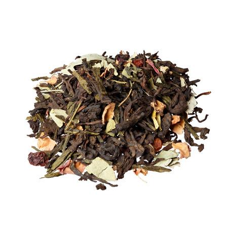 shu: Mix based on Chinese tea shu puer, Japanese Sencha (Sencha) and senna leaves.