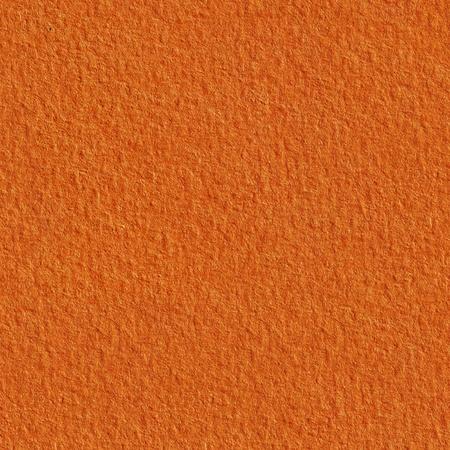 textured paper: Orange textured paper. Seamless square texture. Stock Photo