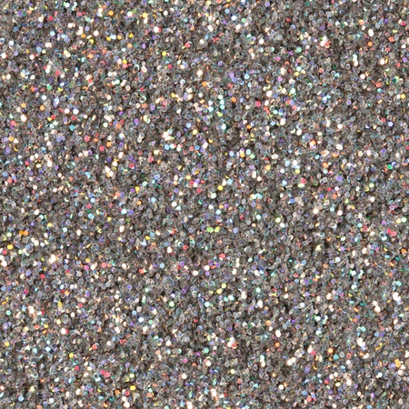 silver texture: Silver glitter background.Seamless square texture. Stock Photo