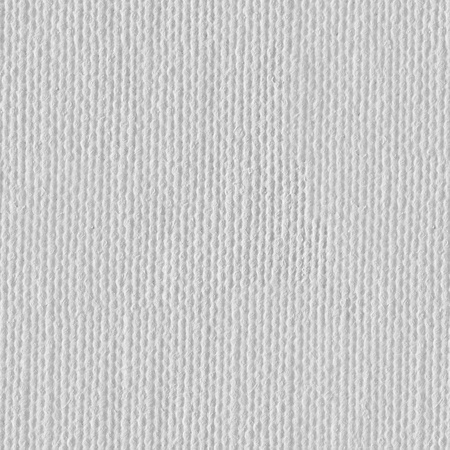 canvas background: White canvas background or texture. Seamless square texture. Tile ready. Stock Photo
