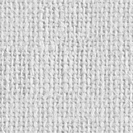 coarse: Background from gray coarse canvas. Seamless square texture. Tile ready. Stock Photo