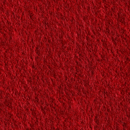 Red felt. Seamless square texture. Tile ready. Stock Photo