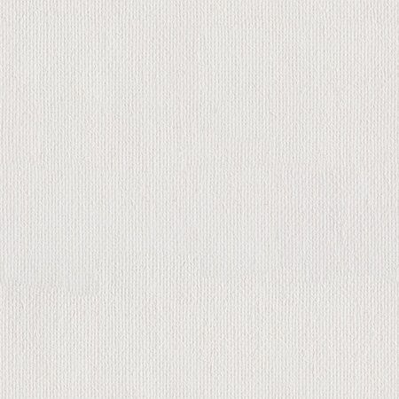 priming paint: Canvas texture coated by white primer. Seamless square texture. Tile ready.