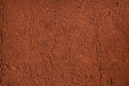 dry powder: Background of a dry powder cocoa. Stock Photo