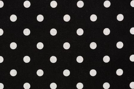 White polka dot on black background. Hi res photo. Stock Photo