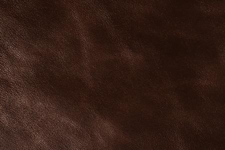 Luxury dark brown leather background. High resolution photo.