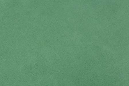 Close up of a green leather texture. High resolution photo.