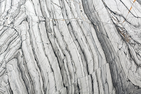 Detailed structure of luxury gray marble in natural patterned for background and design. High resolution photo.