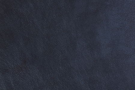 Résumé de la texture du cuir naturel bleu.