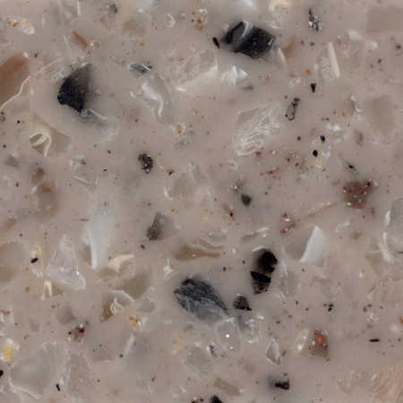 touchstone: Close up of light beige surface artificial stone, background.