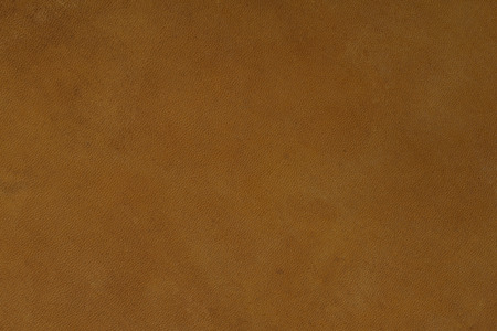 Brown leather texture on macro. High resolution photo. Stock Photo