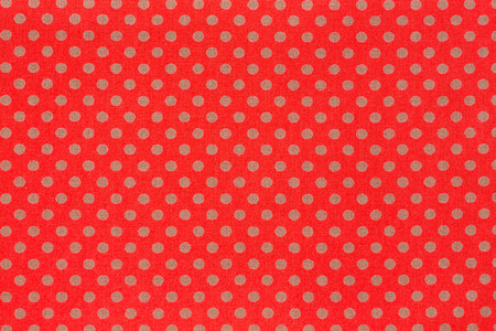 Colorful dots illustration design over a red background. Stock Photo