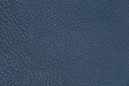 Natural blue leather texture. High resolution photo.