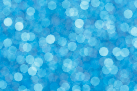 glitz: Close up of blurred lights on blue background. High resolution photo.