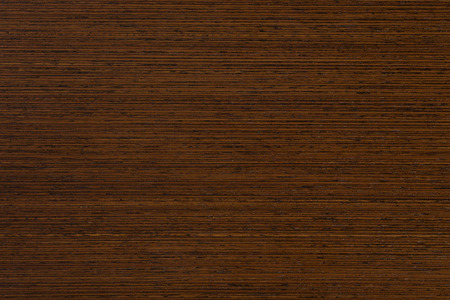 Wenge wood in the macro. Extremely high resolution photo. Stock Photo
