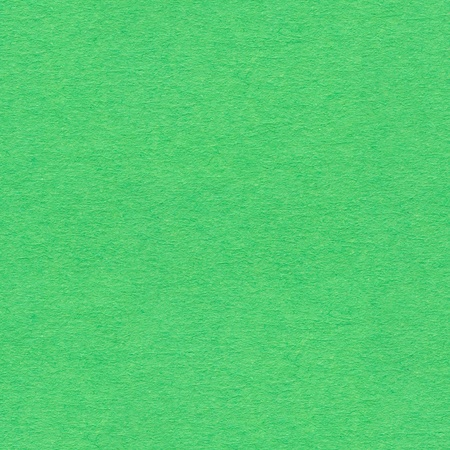 Soft green paper texture. Seamless square background, tile ready. High quality image. Stock Photo
