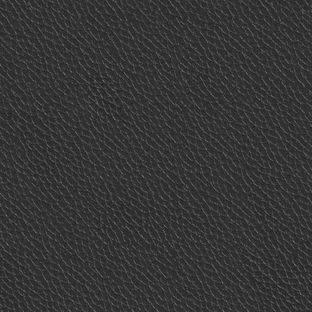 Macro texture fragment black leather. Seamless square background, tile ready. High resolution photo. Stock Photo