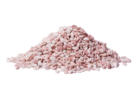 Many pink stones.  High resolution photo. Stock Photo