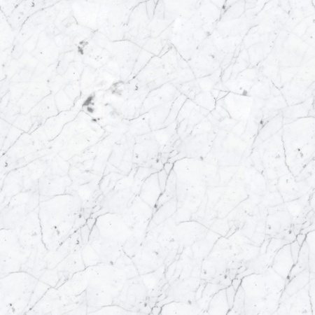 Close Up Of White Marble Texture. Seamless Square Background, Tile Ready.  High Resolution