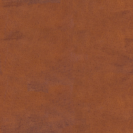 Old brown scratched leather texture. Seamless square background, tile ready. High resolution photo. Stock Photo