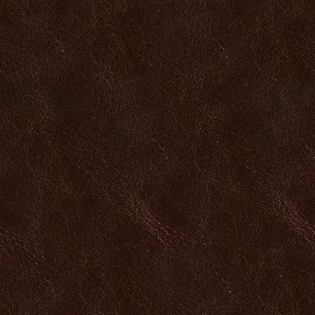 tooled: Texture of brown grunge leather. Seamless square background, tile ready. High resolution photo.