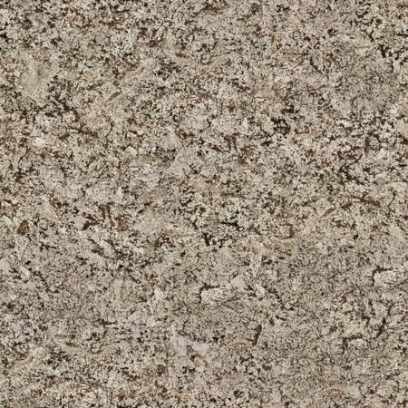 Beige and brown granite background. Seamless square texture, tile ready. High resolution photo.