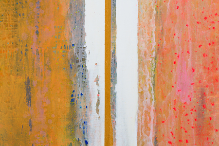 Great background or texture. Abstract oil painting. Vertical lines. High resolution photo.