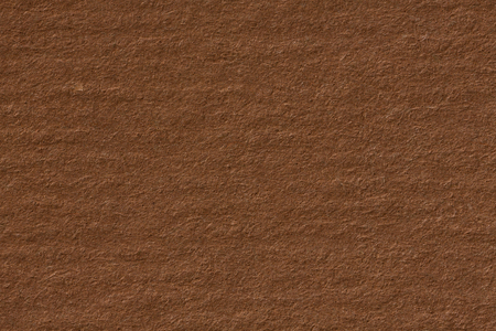 Dark beige kraft paper texture with horizontal stripes for background. High resolution photo. Stock Photo