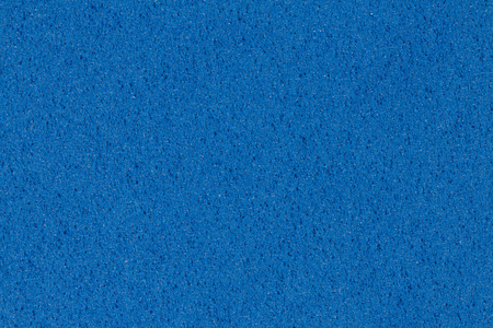 Simple blue ethylene vinyl acetate (EVA) texture. High resolution photo. Stock Photo