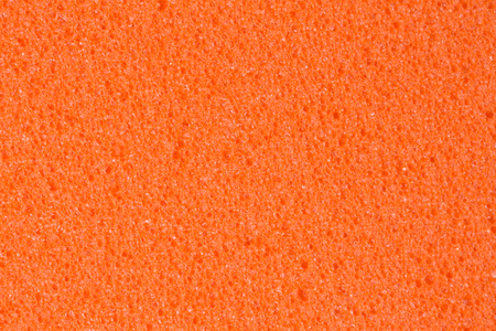 Saturated peach ethylene vinyl acetate (EVA) texture. High resolution. Stock Photo