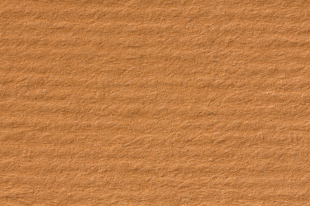Kraft paper texture with horizontal stripes for background. High resolution photo.