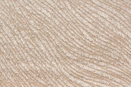 Extravagant light beige fabric texture. High resolution photo.