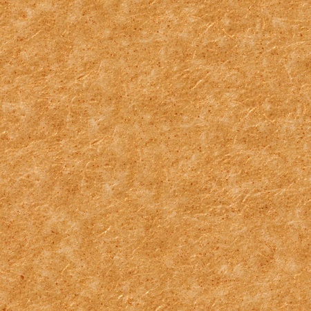 Fulvous paper texture with reliefs. Seamless square background, tile ready. High resolution photo. Stock Photo
