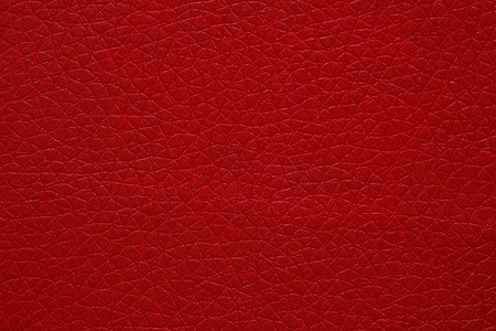 Impassioned red leatherette background.