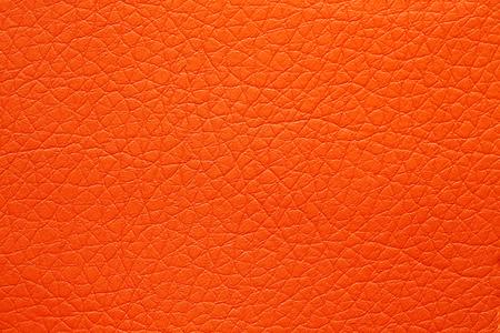 Extravagant orange leatherette texture. Stock Photo - 124772652