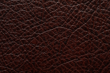 Contrast relief leatherette texture in dark tone. Stock Photo - 124772894