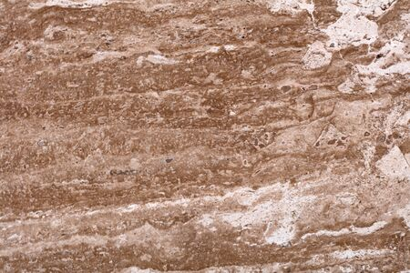 Superior travertine background in brown color for your expensive design. High quality texture in extremely high resolution. 50 megapixels photo.