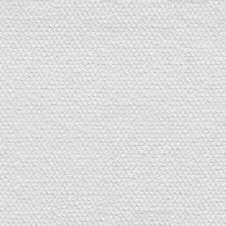 Zwykłe klasyczne tło włókienniczych w odcieniu bieli. Kwadratowa tekstura, gotowe płytki.
