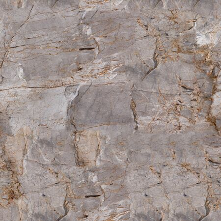 Relief grey marble texture with shadow. Seamless square background, tile ready.