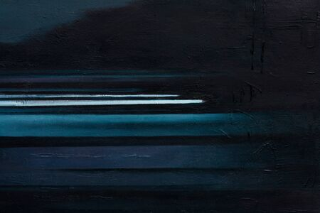 Gorgeous painting in stylish dark tone for design.