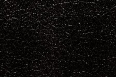 Just stylish leatherette texture in black tone. Stock Photo