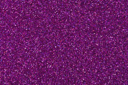 Texture de paillettes holographiques violettes, arrière-plan pour vos vacances Banque d'images