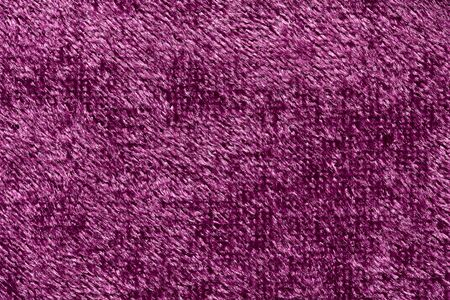 Magnificent fabric texture in violet colour.
