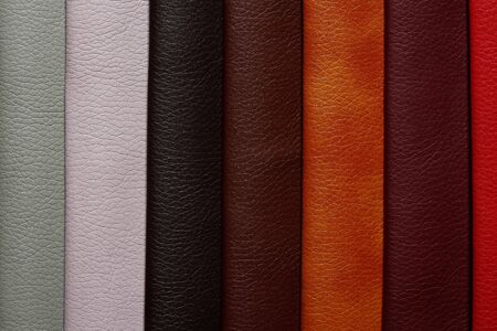 Admirable leatherette background in samples.